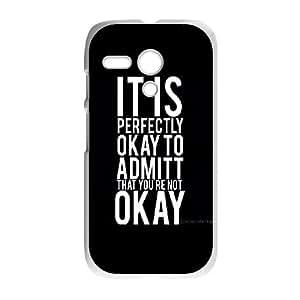 Motorola Moto G Phone Case With OKAY,OKAY U8G53037