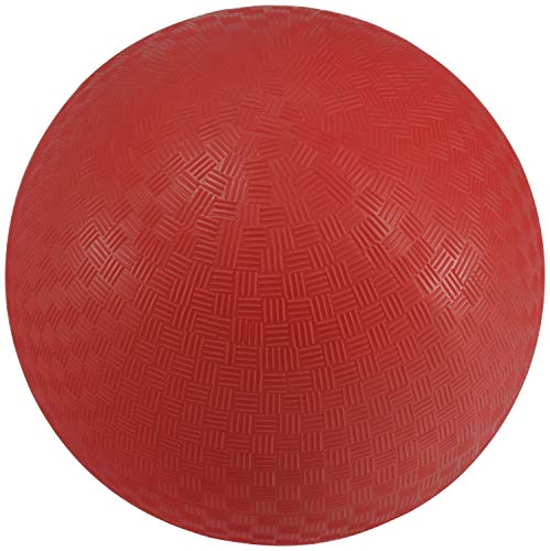 Sportime 1293609 Playground Ball, 8-1/2 Inches, Red]()