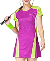 Womens Pro Tennis Dress Breathable Team Golf Skort