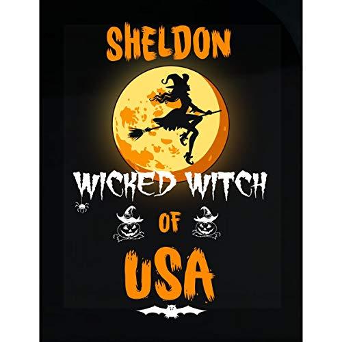 Inked Creatively Sheldon Wicked Witch of USA Sticker -