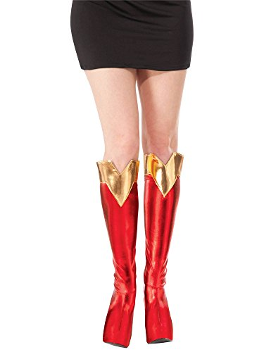 Rubie's Costume Co Women's DC Superheroes Boot-Tops, Supergirl]()