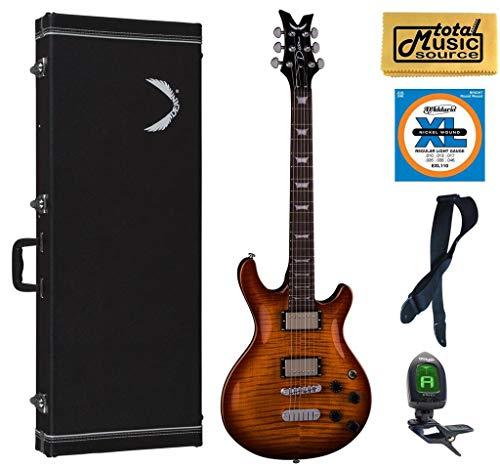 Dean ICON FM TBZ Icon Solid-Body Electric Guitar, Trans Brazil Case Pack