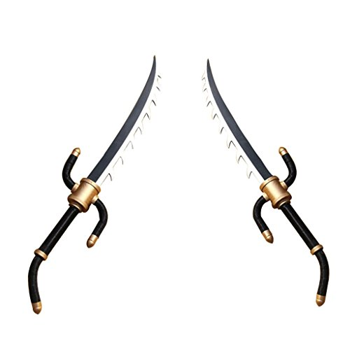 Mtxc League of Legends Cosplay Katarina Weapons Double Knife 2nd Black