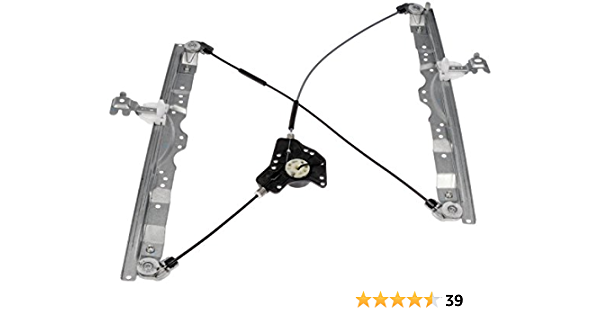 Dorman 740-779 Rear Driver Side Power Window Regulator for Select Infiniti Nissan Models