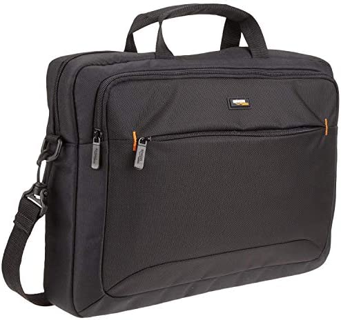 AmazonBasics 15.6-Inch Laptop Computer and Tablet Shoulder Bag Carrying Case, Black, 1-Pack – The Super Cheap