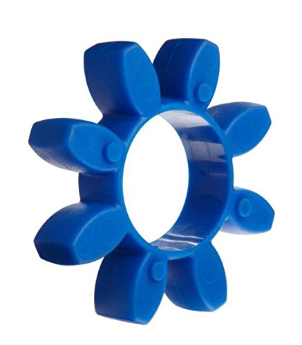 Urethane 43 in-lbs Nominal Torque Blue 80 Shore A Lovejoy 61461 Size CJ 19 Curved Jaw Coupling Spider 14000 rpm Max Rotational Speed