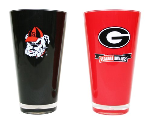 Georgia Bulldogs Tumbler (NCAA Georgia Bulldogs 20-Ounce Insulated Tumbler - 2 Pack)