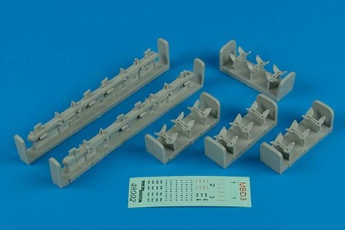 1/48 MBD3 Soviet Multiple Bomb Racks