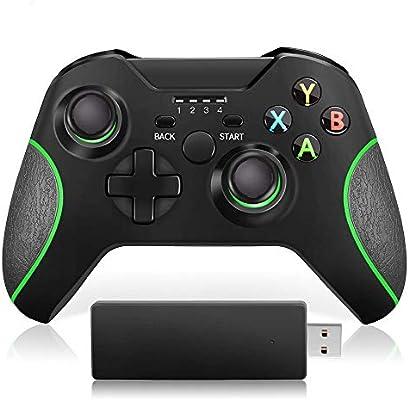 Xuji Gamepad Mejorado Wireless Controller para Xbox One/One S/One X/One Elite / PS3 / Windows 10 | Experiencia de Juego Asombrosa de Doble vibración: Amazon.es: Hogar