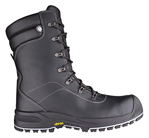 Solid Gear sg7400147Sparta–Zapatos de seguridad S3talla 47NEGRO