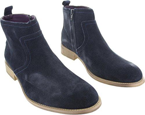 ca6ab6d829b5 Gucinari Men s MXM063A28 Chelsea Ankle Boots Navy 12 UK  Amazon.co.uk   Shoes   Bags