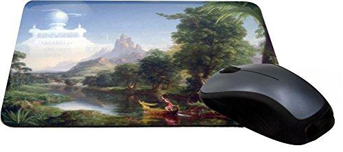 Rikki KnightTM Thomas Cole Art The Voyage of Life Design Lightning Series Gaming Mouse Pad