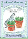 Renee's Garden Seeds Cat Treats, Gourmet, Mixed Greens