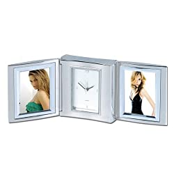 Natico Clk, Alarm,Folding With Double Frame (10-1159)