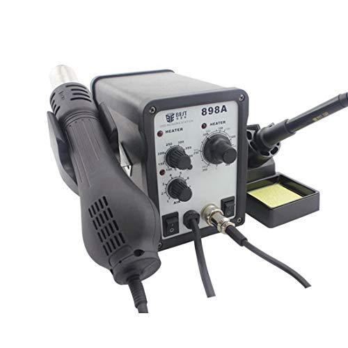 Profession Preciso, sofisticado, duradero MEJOR BST-898A 2 en 1 CA 220 V 700 W Temperatura ajustable por viento helicoidal...