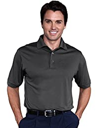 Mens Dry Swing Bamboo Charcoal Blend Texture Solid Dobby Shirt #1085