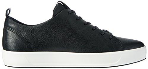 Ecco Damer Bløde 8 Damer Sneaker Sort (1001Sort) asiU5DBWM