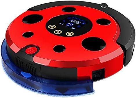 Aspirateur robotique intelligent, aspirateur balayant balayant super silencieux rechargeable, anti-collision, pour tapis fin