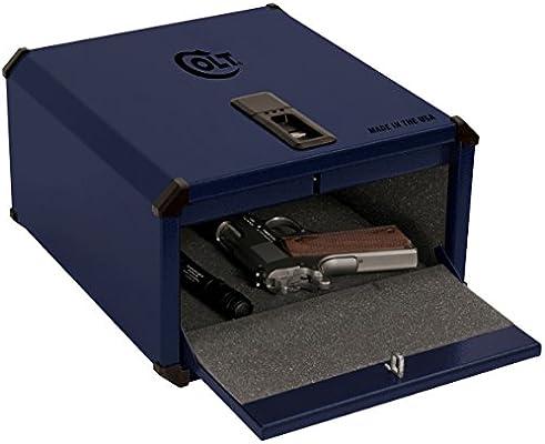 Libertad 9 G Colt cdx-250 Smart Vault biométrica Safe: Amazon.es: Deportes y aire libre