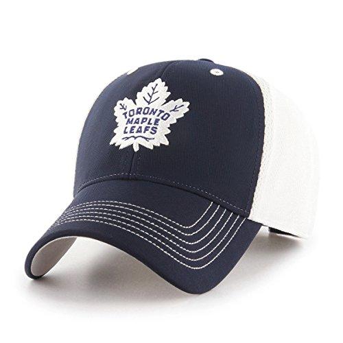 (NHL Toronto Maple Leafs Sling OTS All-Star MVP Adjustable Hat, Navy, One Size)