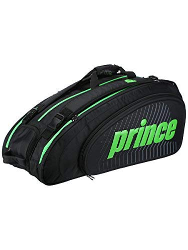 Prince Tour Slam 12 Pack Racquet Bag Green/Black