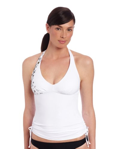 Lole Women's Jamaica Tankini, White, Medium