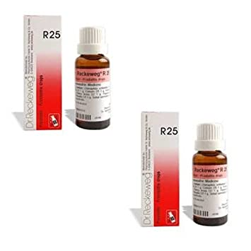 Amazon com: 2 X Dr  Reckeweg - R25 Homeopathic Medicine: Health
