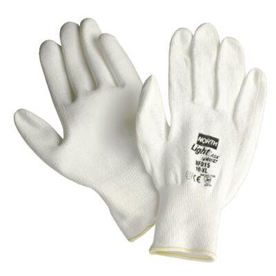 North Safety NFD15/9L L Light Task Plus II Polyurethane-Coated Gloves by North