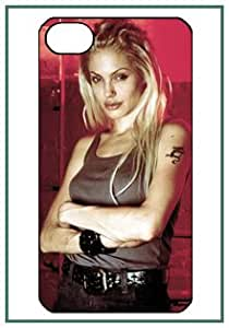 Gone in Sixty Seconds Movie Actress Angelina Jolie Gone Sixty Secondes Movies & TV iPhone 4s iPhone4 Black Designer Hard Case Cover Protector Bumper Funda
