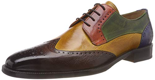 Scarpe Orange 14 Mid Green Hrs da W amp; Hamilton Melvin Burgundy Brown Ultra Ocra Multicolore uomo Milano Jeff Saphir xgwqIwFtWO