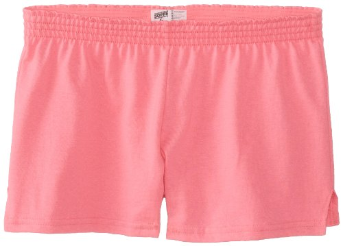 Soffe Big Girls' New Short, Neon Pink, Large ()