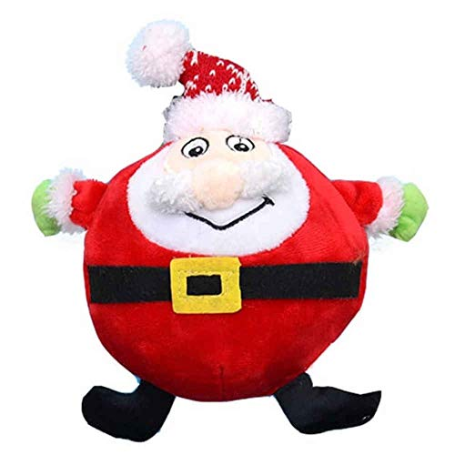 Bubimex X-Mas Santa Plush Toys for Dogs