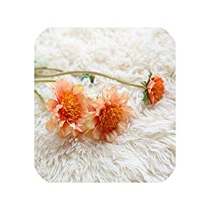 10PCS Artificial Flower Simulation Orchid Daisy Gerbera Flowers for Wedding Bridal Bouquets Home Party Event Table Decorative,5 19