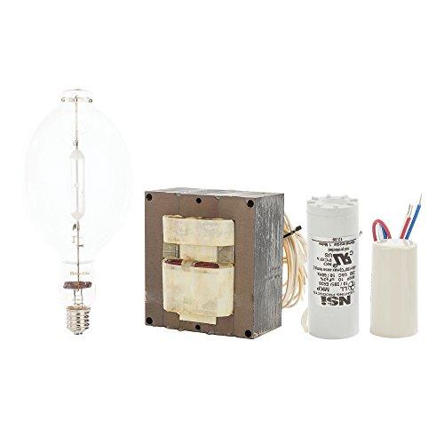 NSi Industries BKS400QL-M HPS Quad High Pressure Sodium Ballast Kit with Lamp, 400W