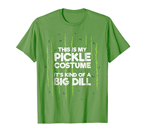 This Is My Pickle Costume Shirt Halloween Food Lazy -