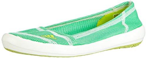 adidas Boat Slip-on Sleek, Chaussures de Sport Femme Jaune (Semi Solar Yellow/Semi Flash Green S15/Chalk White)