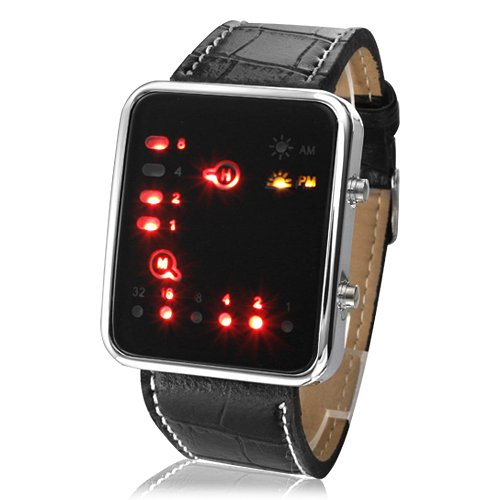 Reloj Binario - futurista estilo japonés Multicolor LED Watch - Binary  Watch - Futuristic Japanese Style  Amazon.es  Relojes 0702fe964b54