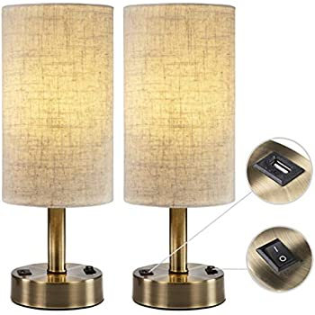 Amazon Com Lifeholder Table Lamp Black Wooden Base