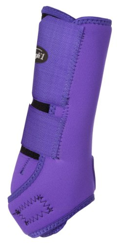 Tough 1 Economy Vented Front Sport Boots, Purple, Medium