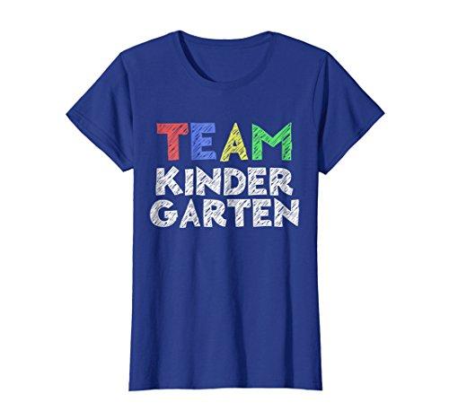 Womens Team Kindergarten TShirt Funny Back To School Gift XL Royal Blue