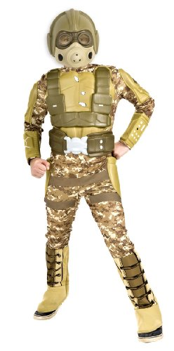 Rubie's Deluxe Desert Warrior Costume - Medium (8-10) (Top 10 Costumes)