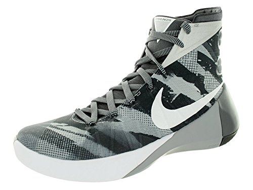 (Nike Mens Hyperdunk 2015 Basketball Shoe (12 D(M) US, Wolf Grey/White/Dark Grey))