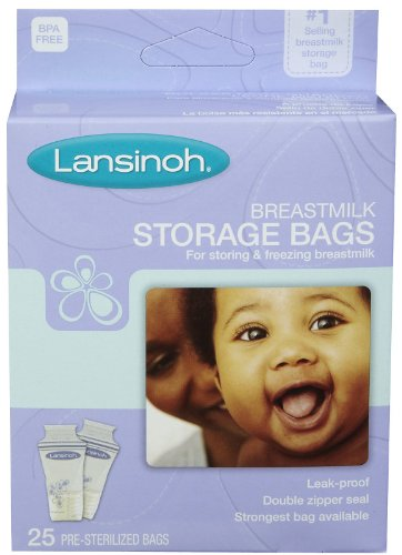 LANSINOH MILK STORAGE BAGS 25EA