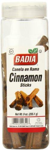 Badia Cinnamon Sticks, 9 Ounce (Pack of 6) by Badia