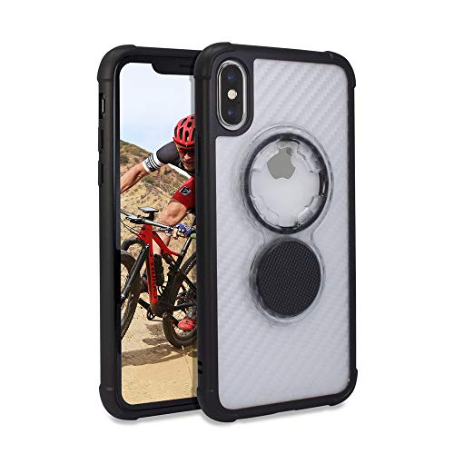 Rokform Crystal [iPhone X/XS Case] Slim Magnetic Protective Case with Twist Lock - Clear