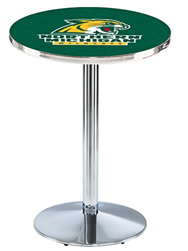 Holland Bar Stool L214C Northern Michigan University Officially Licensed Pub Table, 28