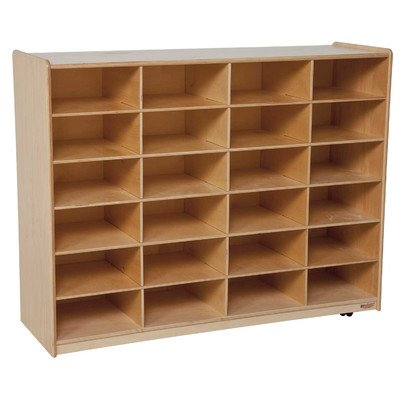 Kid's Play Storage Unit w Swivel Casters by Wood Designs