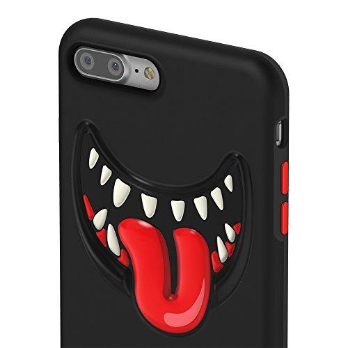 Switcheasy Monsters TPU Fun Case (iPhone 7 Plus, Black)