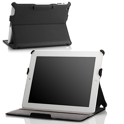 MoKo Slim-Fit Folio Stand Case for for iPad 4th Generation, New iPad 3 & iPad 2