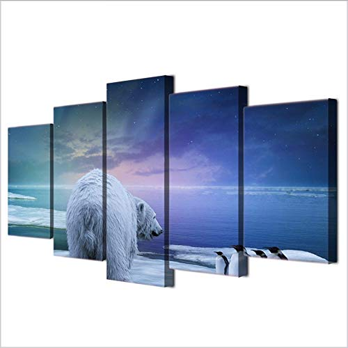Yyjyxd Modular Pictures Hd Printed Canvas Painting Frame